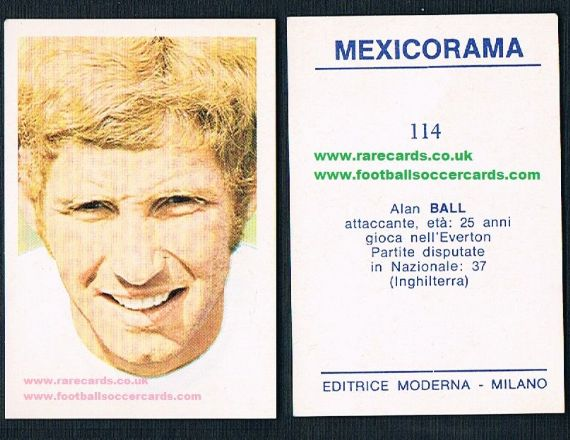 1970 Mexicorama Alan Ball Moderna
